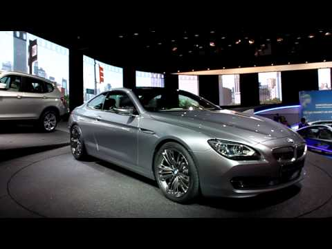BMW 6 Series Coupe at 2010 Paris auto Show [HD]