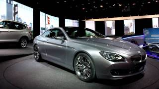 BMW 6 Series Coupe at 2010 Paris auto Show [HD]