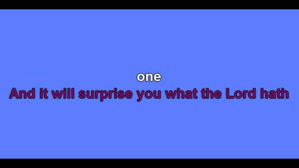 Lyric count your blessings hymn lyrics : Count Your Blessings-karaoke- - YouTube