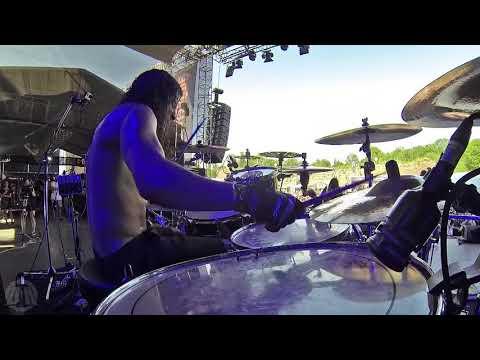 HAVOK@Brutal Prepare For Attack-Pete Webber-Live in Brutal Assault 2017 (Drum Cam)