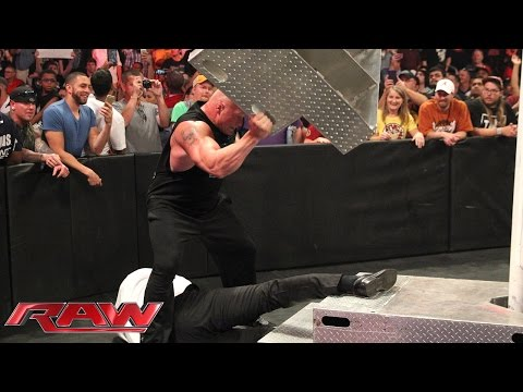 WWE World Heavyweight Championship Contract Signing for WWE Battleground: Raw, July 13, 2015