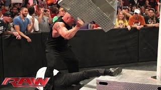 Download WWE World Heavyweight Championship Contract Signing for WWE Battleground: Raw, July 13, 2015 Mp3 and Videos