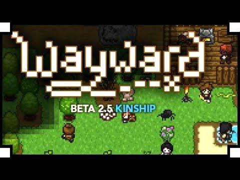 Wayward - (Open World Survival Roguelike Game)