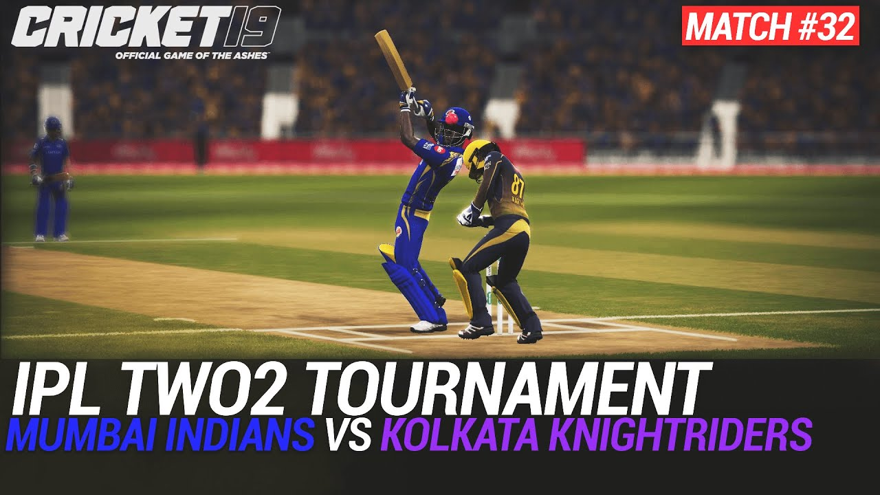 CRICKET 19 - IPL2020 TWO2 - MATCH #32 - MUMBAI INDIANS vs KOLKATA KNIGHTRIDERS