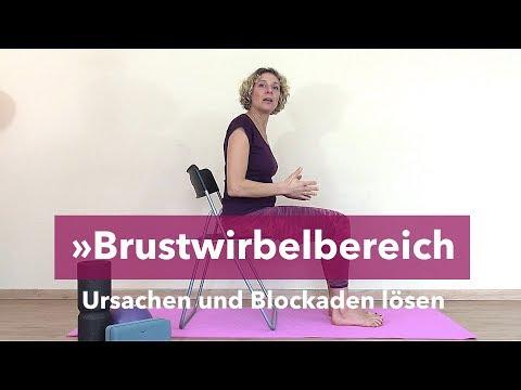 Brustwirbelsäule Blockade selbst lösen | BWS Blockade