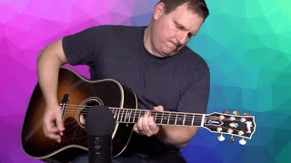 Recording Acoustic Guitar With the Blue Yeti Blackout Edition USB mic Review and Sound Demo