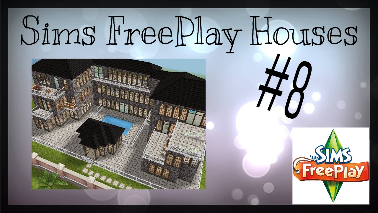 SIMS FREEPLAY CASTLE WITH FLOOR PLAN | House Idea #8 - YouTube