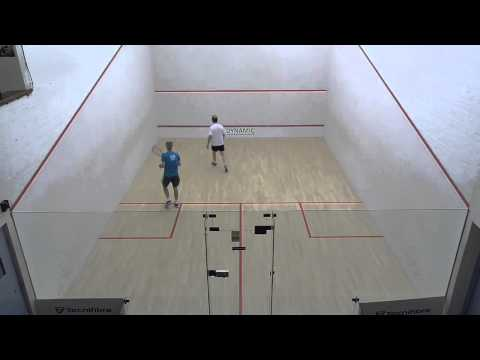 Norfolk squash training Brian Day with David Youngs lesson 7