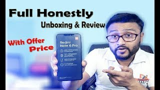 Redmi Note 6 Pro Honestly Unboxing And Review | Redmi Note 6 pro Review | By Digital Bihar