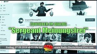 Radio Deutschland Eins Spezial: Sergeant Meinungsfrei im Dialog