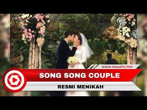 Pernikahan Song Song Couple Penuh Haru