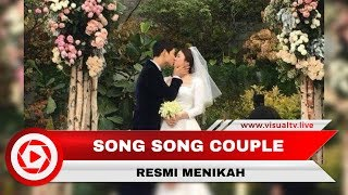 Pernikahan Song Song Couple Penuh Haru