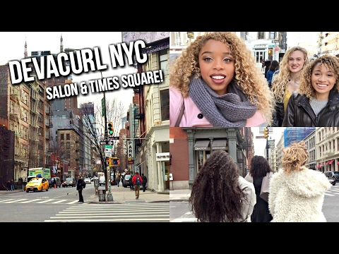 DevaCurl Launch Party NYC: Salon & Times Square | LeSweetpea