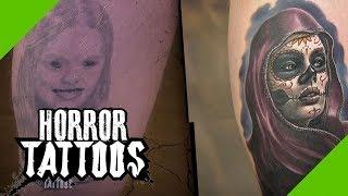 8 Stunden Cover up: Von der Fratze zum realistischen Portrait | Berlin (4/4) | Horror Tattoos | sixx