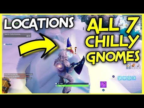 Fortnite Search Chilly Gnomes Season 7 Week 6 Challenges Guide