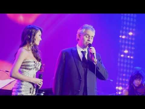Смотреть Andrea Bocelli & Aida Garifullina - Time To Say Goodbye - David Foster Miracle Gala & Concert 2013 онлайн