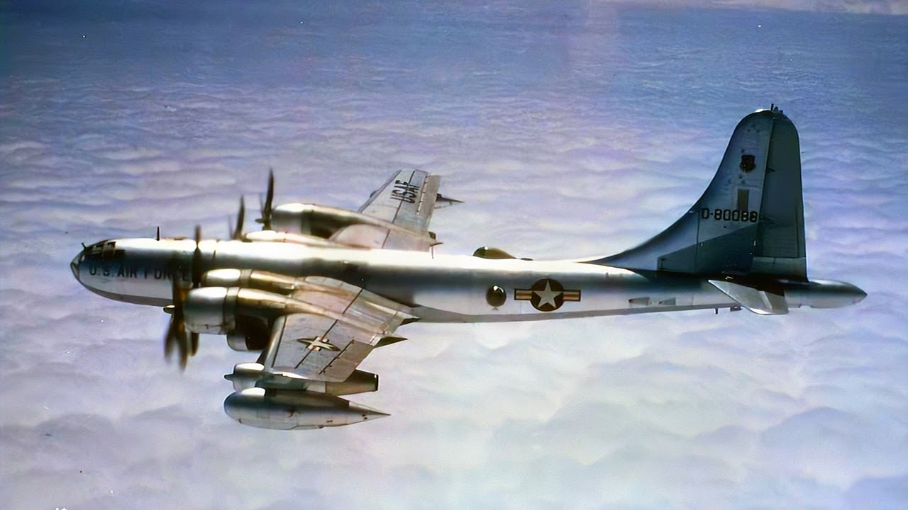 The B-50 Lucky Lady II - First Non-Stop Flight Around the World