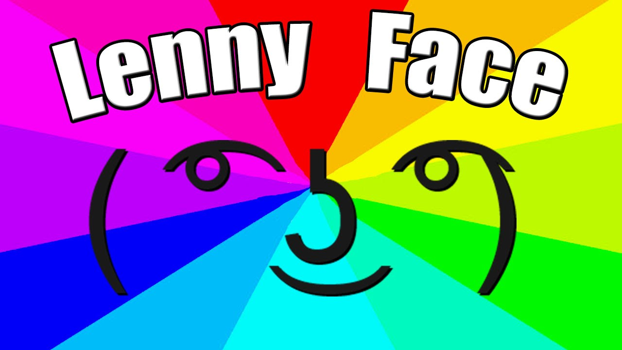 What Is The Meaning Of Lenny Face The Origin Of The Le Lenny Face