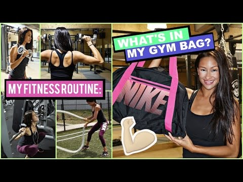 My Fitness Routine   What's in my gym bag?