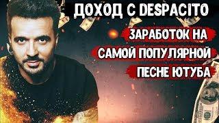 Сколько заработали на песне Despaсito | Доход с самой популярной песни ютуба