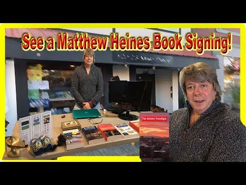 Neverending Bookshop in Bothell Discount Bookstore with Books by Matthew Heines For Sale