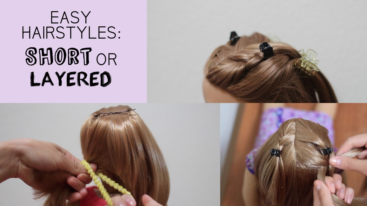 easy ag hairstyles layered
