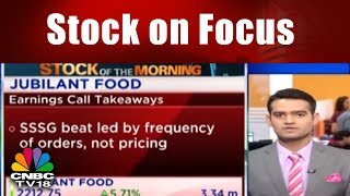 Stock on Focus: Jubliant FoodWorks Reports Strong Q3 Numbers || CNBC TV18