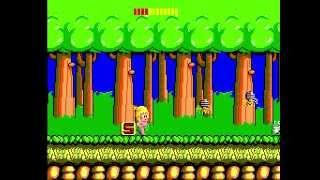 Wonder Boy full playthrough - Sega Master System