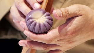 JAPANESE CANDY ART Incredible WAGASHI Traditional Sweets Tokyo Japan