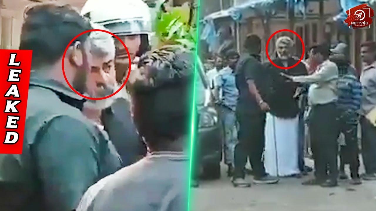 VIRAL: Viswasam Shooting Spot Leaked Video   Thala Ajith