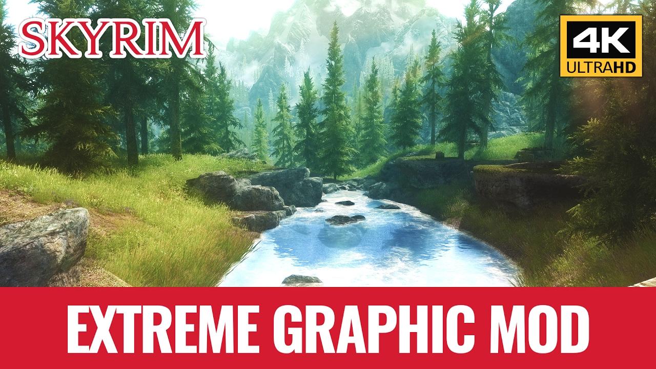 Skyrim 4K - Graphic Mod Extreme ENB Reshade SweetFx (Download) - YouTube Skyrim 4K - Graphic Mod Extreme ENB Reshade SweetFx (Download)
