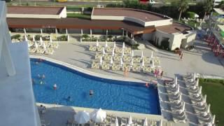 Вид из номера де люкс отеля GrandPark Lara 5* Анталья Турция июнь 2017