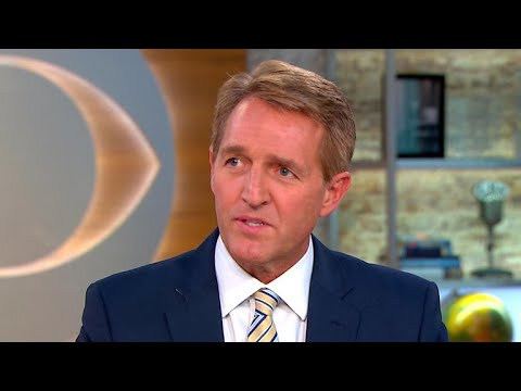"Sen. Jeff Flake on GOP issues and ""crisis of principle"""
