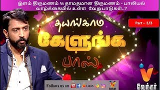 Thayangama Kelunga Boss – Vendhar tv Program