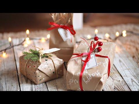 Упаковка И Идеи Для Подарков На НОВЫЙ ГОД!