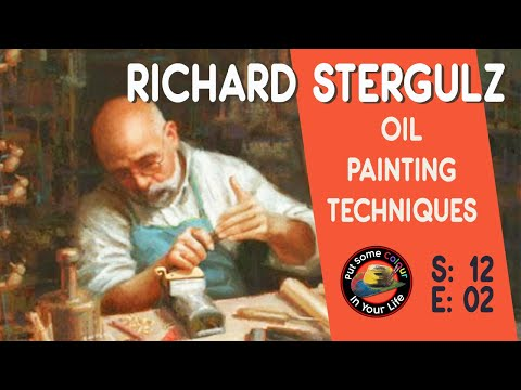 Richard Stergulz Wonderful Oil lesson | Colour In Your Life