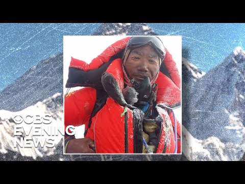 Sherpa breaks his own record with 24th Mount Everest summit