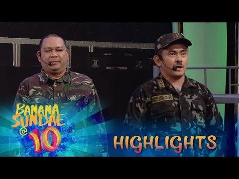 Banana Sundae: BananaKada jokes about tickling soldiers 'General Kiliti'