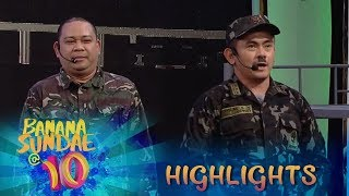 Banana Sundae: BananaKada jokes about tickling soldiers 'General Kiliti'