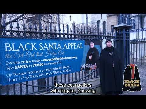 Belfast Black Santa - Daily Blog - Day 7 23/12/2020