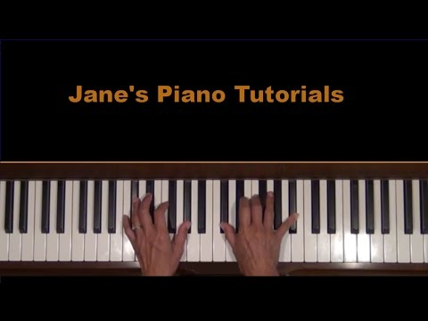A comme Amour (L for Love) Piano Tutorial for the RH