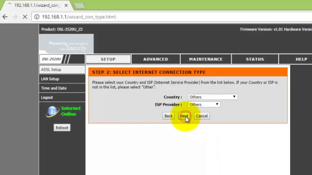 Bsnl-modem-configuration in 3 easy steps.