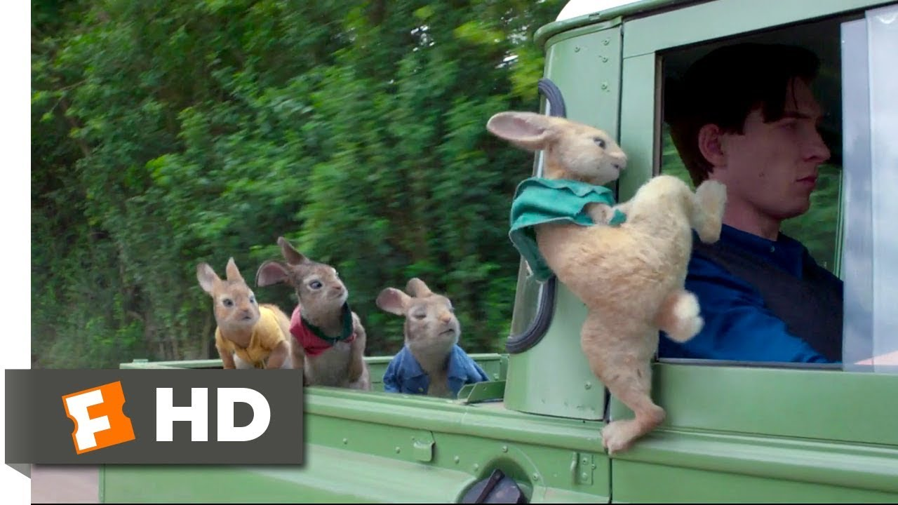 Peter Rabbit (2018) - Wet Willy Rescue (4/10) | Movieclips
