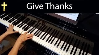 Give Thanks Henry Smith Advanced Piano Solo