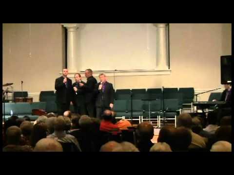 "Resurrection Quartet "" Because He Lives ""  at the Ellen Whittington Gospel Sing Benefit"