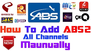 How To Add ABS2 @75.0°E channels Manually?? | On MPEG2 FreeDish Set Top Box