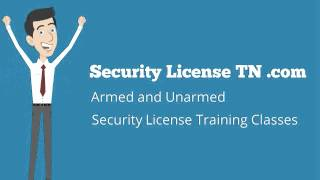 Security License TN Alliance Training and Testing LLC
