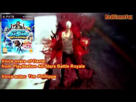 PlayStation AllStars Battle Royale Dante Voice Over