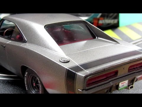 Pioneer '69 Dodge Charger Slot Car Video (Gliders & Racing Models)
