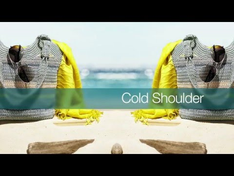 Cold Shoulder   How to wear the trend – Fashion Trends S/S 2016